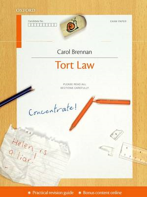 Tort Law Concentrate: Law Revision and Study Guide (BOK)