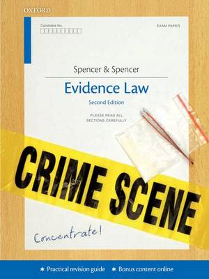 Evidence Concentrate: Law Revision and Study Guide (BOK)