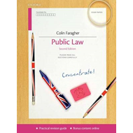 Public Law Concentrate: Law Revision and Study Guide (BOK)