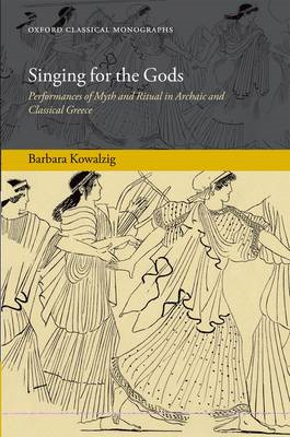 Singing for the Gods (BOK)