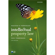 Holyoak and Torremans Intellectual Property Law (BOK)