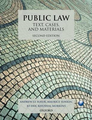 Public Law: Text, Cases, and Materials (BOK)