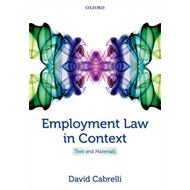 Employment Law in Context (BOK)