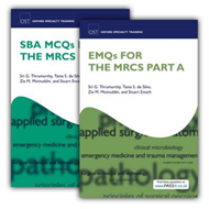 SBA MCQs and EMQs for the MRCS Part A Pack (BOK)