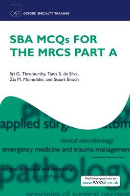 SBA MCQs for the MRCS Part A (BOK)