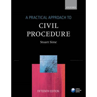 A Practical Approach to Civil Procedure (BOK)