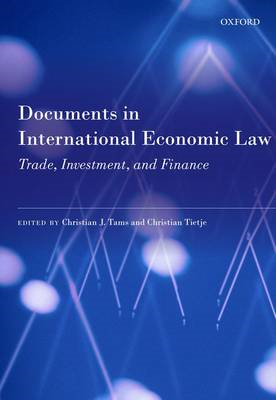 Documents in International Economic Law: Trade, Investment, and Finance (BOK)
