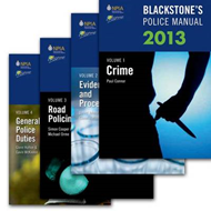 Blackstone's Police Manuals: 2013: v. 1-4 (BOK)
