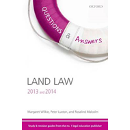 Questions & Answers Land Law 2013-2014