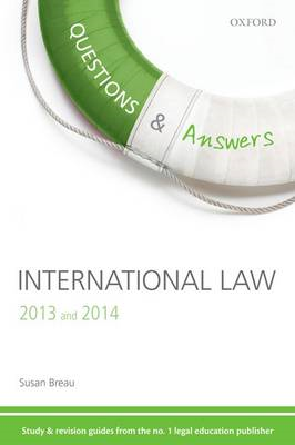 Questions & Answers International Law 2013-2014 (BOK)