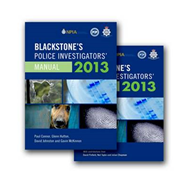 Blackstone's Police Investigators' Manual and Workbook: 2013 (BOK)