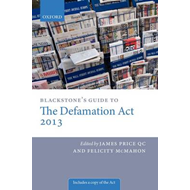 Blackstone's Guide to the Defamation Act (BOK)