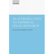 Introduction to Empirical Legal Research (BOK)