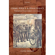 Crime, Police, and Penal Policy (BOK)