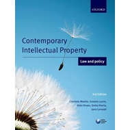Contemporary Intellectual Property: Law and Policy (BOK)