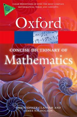 Concise Oxford Dictionary of Mathematics (BOK)
