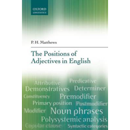 Positions of Adjectives in English (BOK)