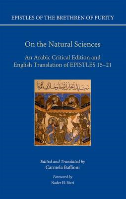 On the Natural Sciences: An Arabic Critical Edition and English Translation of Epistles 15-21 (BOK)