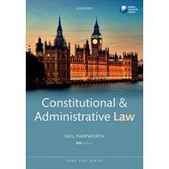 Constitutional & Administrative Law (BOK)