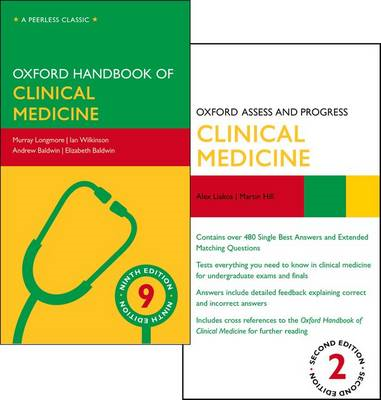 Oxford Handbook of Clinical Medicine and Oxford Assess and P (BOK)