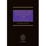 EU Social and Employment Law 2E (BOK)