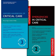 Oxford Handbook of Critical Care  and Emergencies in Critical Care Pack (BOK)