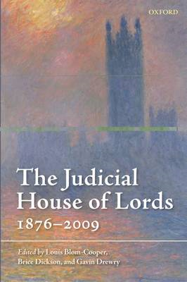 The Judicial House of Lords: 1876-2009 (BOK)