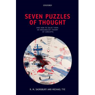 Seven Puzzles of Thought: And How to Solve Them: An Originalist Theory of Concepts (BOK)