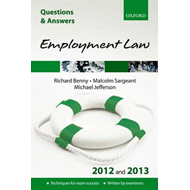 Q & A Revision Guide: Employment Law: 2012/2013 (BOK)