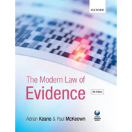 The Modern Law of Evidence (BOK)