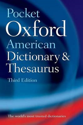 Pocket Oxford American Dictionary & Thesaurus (BOK)