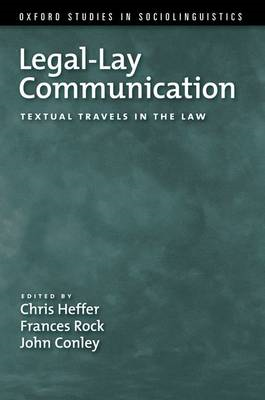 Legal-Lay Communication (BOK)
