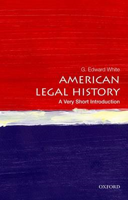 American Legal History: A Very Short Introduction (BOK)