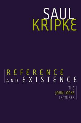 Reference and Existence (BOK)