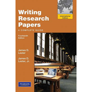 Writing Research Papers: A Complete Guide (BOK)