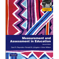 Measurement and Assessment in Education (BOK)