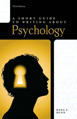 Short Guide to Writing About Psychology (BOK)