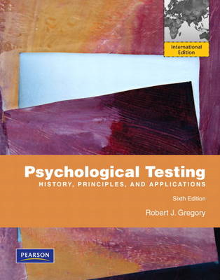 Psychological Testing: History, Principles, and Applications (BOK)