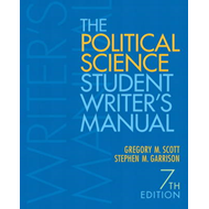 The Political Science Student Writer's Manual (BOK)