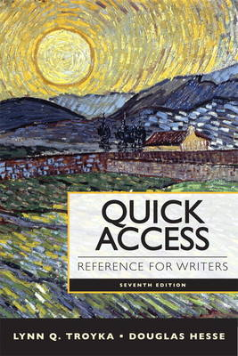 Quick Access: Reference for Writers (BOK)