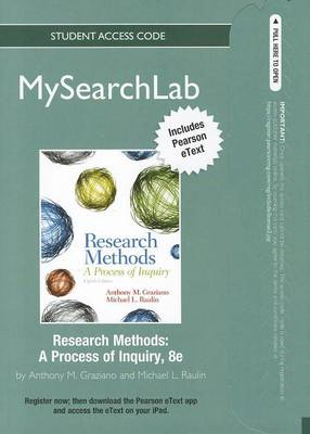 Research Methods: A Process of Inquiry (BOK)