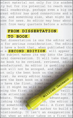 From Dissertation to Book (BOK)