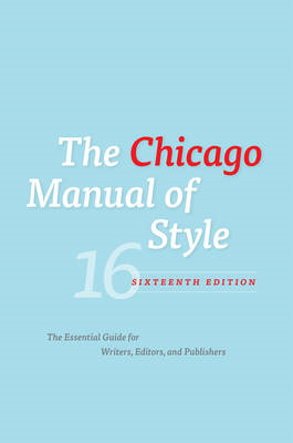 Chicago Manual of Style (BOK)