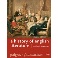 A History of English Literature (BOK)