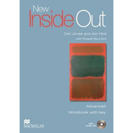 New Inside Out Advanced: Work Book + Key with Audio CD (BOK)