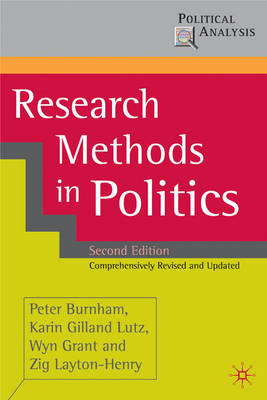 Research Methods in Politics (BOK)