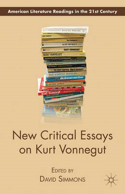 New Critical Essays on Kurt Vonnegut (BOK)