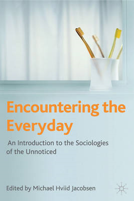Encountering the Everyday: An Introduction to the Sociologies of the Unnoticed (BOK)