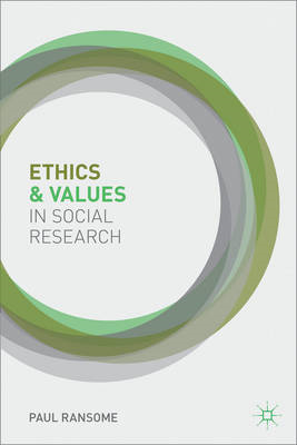 Ethics and Values in Social Research (BOK)