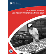 UK Standard Industrial Classification of Economic Activities: 2007 (BOK)